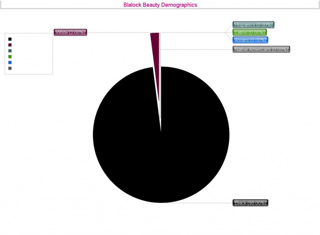 Blalock Beauty Demographics